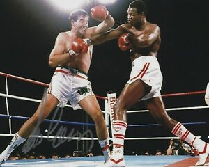 Gerry Cooney Signed/Autographed Boxing 8x10 Photo - w/COA - w/Larry Holmes