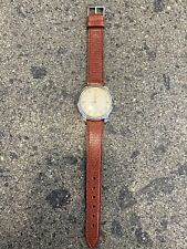 Zenith cal.106 Vintage Acciaio Steel Case Swiss Made Mens Watch