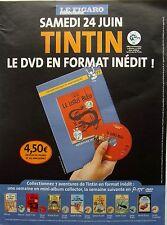 page de publicite -   SORTIE DVD  TINTIN   en  2006 ref. 49811