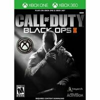 Call of Duty Black Ops II ( Xbox one / Xbox 360 )