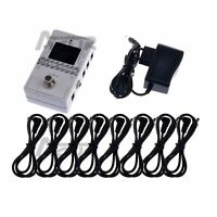 Caline Tuner-Power 2 in 1 for Guitar Effect Pedal Power Supply Ture Bypass CP-09