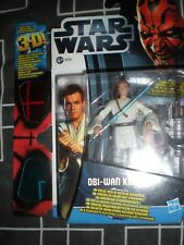 STAR WARS-CARDED FIGURE WITH 3-D GLASSES-2012