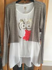 Girls Total Girl Long Sleeve Shirt. New With Tags. Size Large (14)