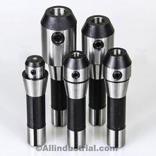 5 Pc R8 End Mill Holder Set 14 38 12 58 34 Adapter For Bridgeport Kit