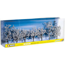 NOCH 25075 H0/TT/N Winterbäume 7 Stück, 8-10 cm hoch ++ NEU & OVP ++