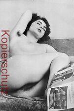 Acto erotismo nude hairy Girl 2985 pechos imagen fotografía RDA vintage 10x15 cm 60er 70er