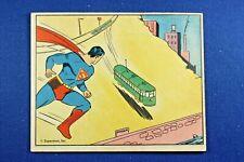 1940 Superman Gum, Inc. - #65 - The Runaway Trolley Car - VG/Ex Condition