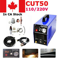 Household Digital Air Plasma Cutting Cutter Inverter 50Amp 110V /220V CUT 50A