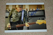 Tony Franklin SIGNED AUTOGRAFO in persona 20x25 cm The Firm (Jimmy Page, Slade)
