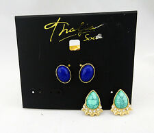 THALIA SODI Gold toned - set of 2 Earrings Msrp  $24.50 *NEW WITH TAG *
