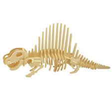Holzspielzeug Gigantspinosaurus 3D Holzpuzzle Holzbausatz Steckpuzzle T-Rex Dinosaurier