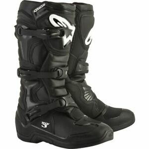 Alpinestars Tech 3 Boots - Black, All Sizes