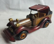 Vintage Colletable Wooden Car