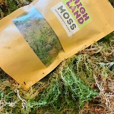More details for fresh sphagnum moss in classic green/brown