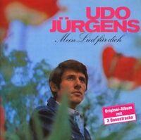 """UDO JÜRGENS """"MEIN LIED FÜR DICH"""" CD NEU"""