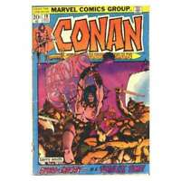 Conan the Barbarian (1970 series) #19 in VG + condition. Marvel comics [*bc]