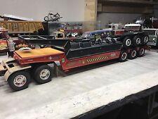1/25 AMT T508 Lowboy Built model trailer wheels roll Plus Double Drop Project