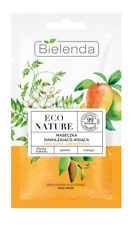 BIELENDA Eco Nature MOISTURIZING & SOOTHING FACE MASK