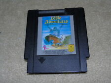 Nintendo NES Bible Adventures Game Cartridge RARE