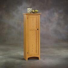 Tall Storage Pantry Kitchen Cabinet Wooden Organizer Cupboard