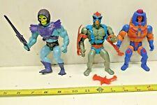 4 Vintage He-Man MOTU Action Figures Mattel 1981-82 Skeletor
