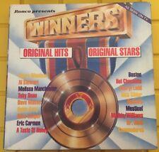 Ronco Records 1979 Presents WInners 18 Hits Original Artists EX/EX