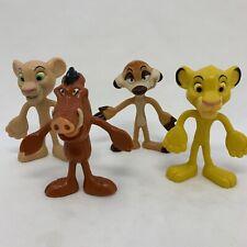 4 Walt Disney Resort Kellogg Pixar Lion King Exclusive Bendable Figures 2010020