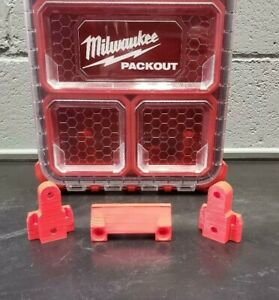 Milwaukee Packout Box Tool Case Wall Mount Hanging Cleats