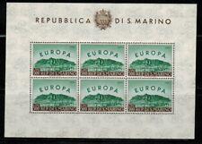 San Marino #490 Sheet of 6 1961 MNH