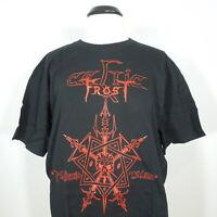 CELTIC FROST Morbid Tales T-Shirt Black Men's size XL (NEW)