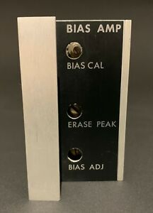 Ampex 4050433 Bias Card. For AG-440 MM1000 MM1100 MM1200