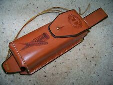 Handmade Box Call Lined Leather Case Turkey Call Nwtf