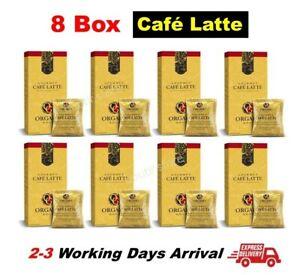 8 Box ORGANO GOLD CAFE LATTE GANODERMA COFFEE GOURMET REISHI - FREE SHIP