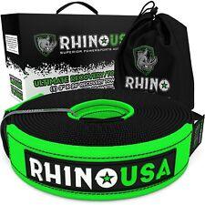 Rhino Usa Recovery Tow Strap 3in X 20ft Heavy Duty 31518lb Break Strength