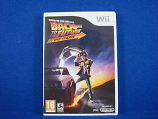 Wii BACK TO THE FUTURE The Game Join Doc and Marty! Nintendo PAL