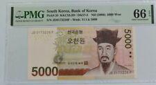 2006 South Korea 5000 Won PMG66 EPQ GEM UNC [P-55]