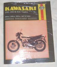 Haynes Workshop Manual KAWASAKI KH S1 S2 S3 KH250 & KH400 Triples 1972-79