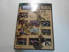1996 Yamaha YFM400FWH Supplementary Service Shop Manual FACTORY NEW