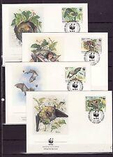 Bulgaria 1989 - FDC - Dieren / Animals (Bats) WWF/WNF