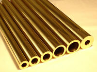 Albion Alloys BT9M - 2 x 9.0mm Dia. x 0.45mm Walls x 305mm Long Round Brass Tube