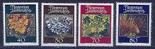 LIECHTENSTEIN 1981 MNH SC.714/717 Mosses and Lichens