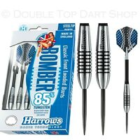 Harrows Bomber 85% Tungsten Steel Tip Darts - Choose from 21g 23g 25g or 27g