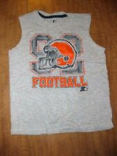 CLEVELAND BROWNS youth small tank top Shaun Rogers #92 Starter chalk design
