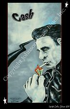 Johnny Cash Poster by Cadillac Johnson