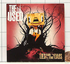 THE USED Lies or the Liars PROMO STICKER DECAL DM