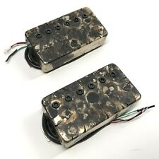 Bare Knuckle Miracle Man Humbucker Calibrated Covered Set 53mm Camo Battleworn