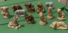 Wade England Ceramic Animal Miniature Figurines Lot Of 12 . We1