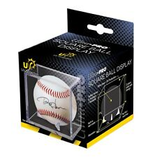 NEW Ultra Pro UV Protected SQUARE BASEBALL CUBE DISPLAY HOLDER CASE with CRADLE