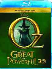 NEW Oz the Great and Powerful (Blu-ray 3D + Digital Copy), Free Shipping