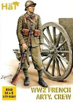 Hat industries 1/72 WWII French Artillery Crew (32) HAT8162